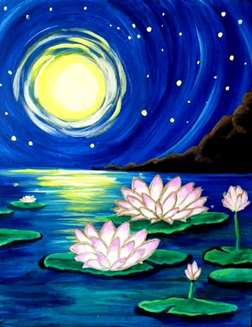 Moonlit Lotus