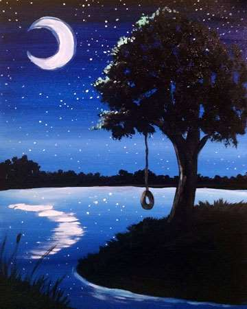 Moonlit River