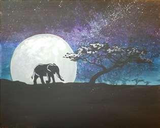 Moonlit Safari