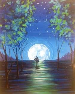 Moonlit Stroll