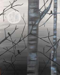 Moonlit Twitter