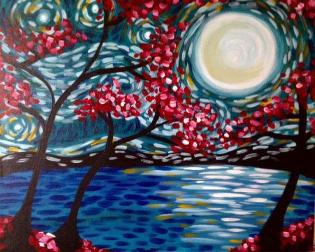 Moonlit Van Gogh
