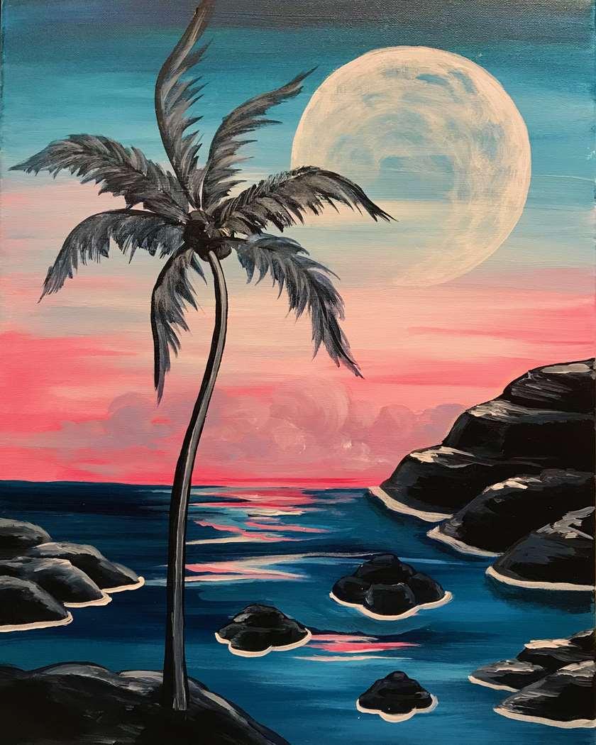 Moonrise Dawn