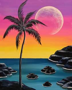 Moonrise Dusk