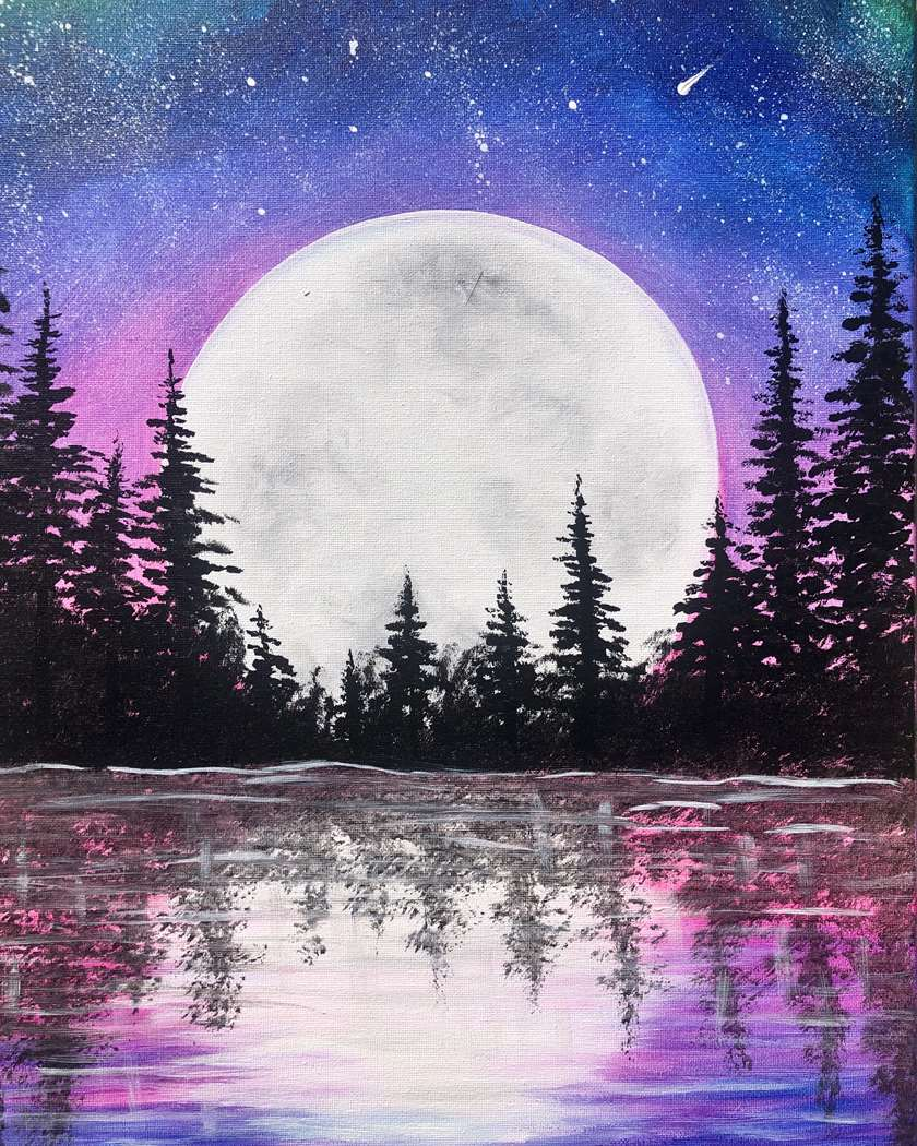 Moonrise Lake