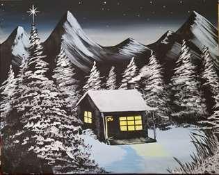 Mountain Christmas Eve
