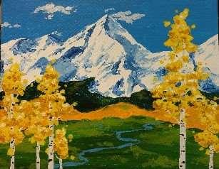Mountain Gold Majesty