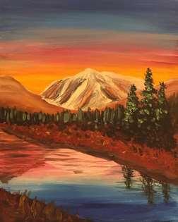 Mountain Morning Sunrise