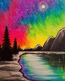 Mountain Sky Lights