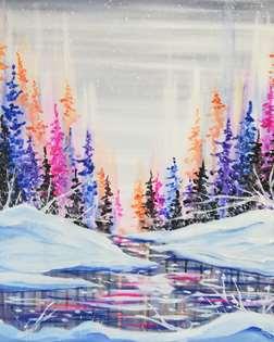 Multichromatic Snowstorm