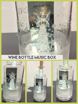 Music Box: Wine Bottle Craft