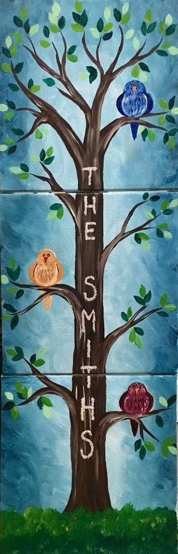 Bring Mom and the crew to paint your family tree
