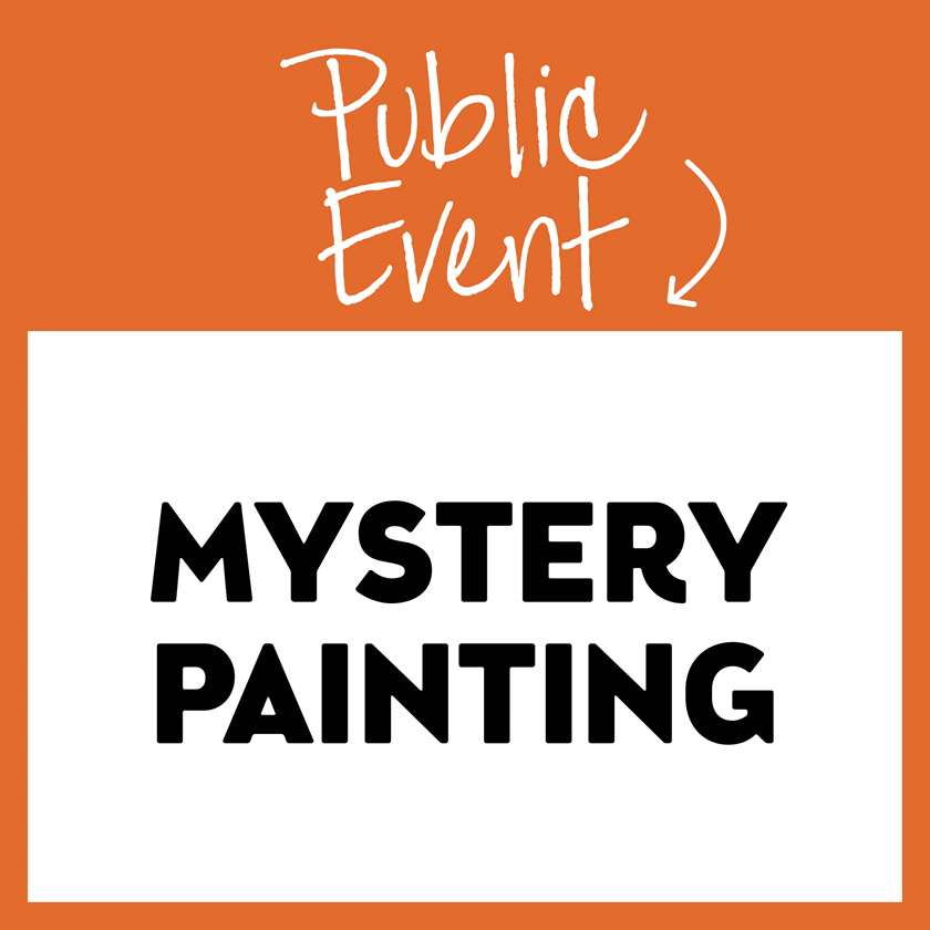 Wednesday Wonder Series- Mystery Painting