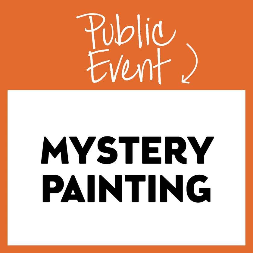Wednesday Wonder Series- Mystery Painting