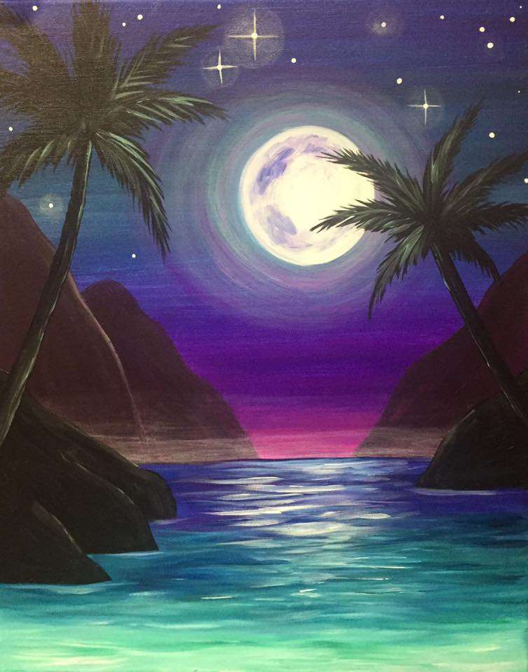 Mystic moonlight fri aug 17 7 30pm at webster groves for Wine and paint st louis
