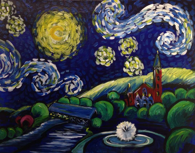 Naperville Starry Night
