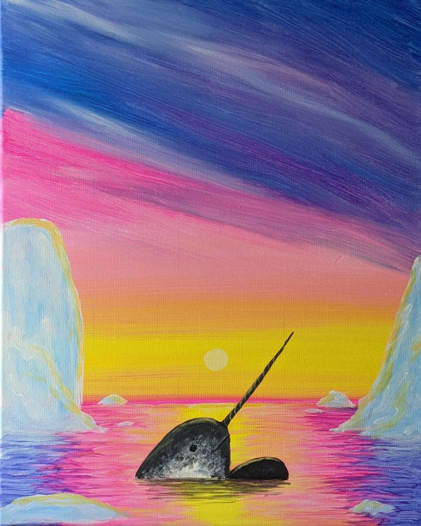 NATIONAL NARWHAL APPRECIATION DAY!!!  IN STUDIO EVENT. LIMITED SEATING