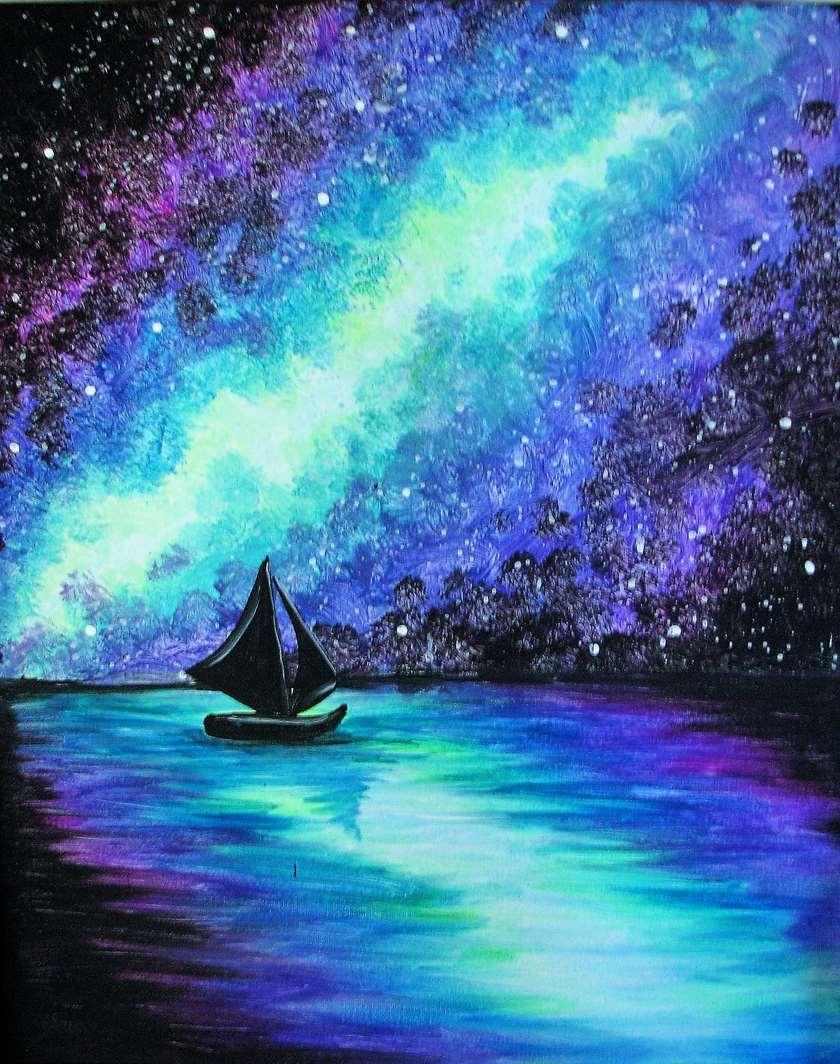 Black Light Painting