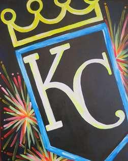 Neon KC Royals