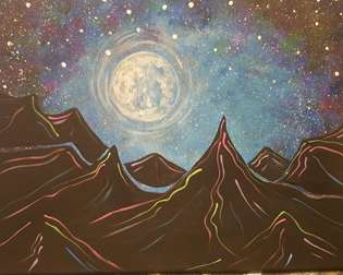 Neon Moon Mountain