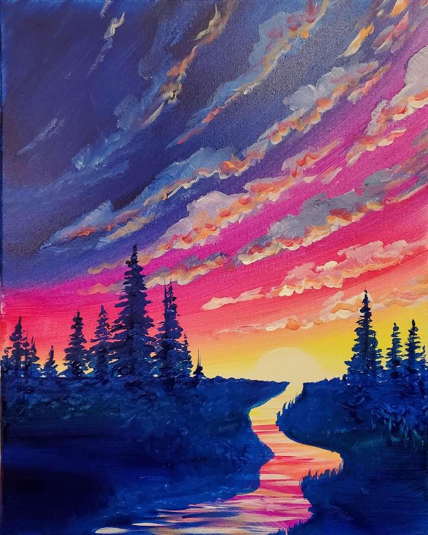 Neon Sunrise