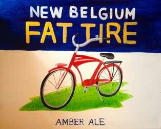 New Belgium Fat Tire (new label)