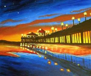 Night At The Pier