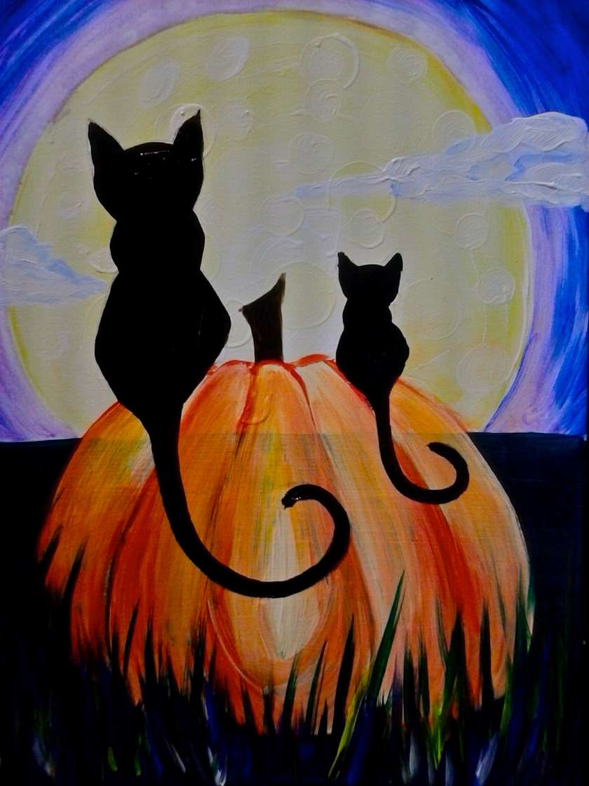Night Cat Productions: Fri, Oct 13 1PM At Pinot's Palette