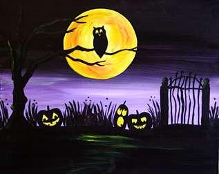 Night in the Pumpkin Patch