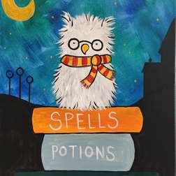 Night Owl Book Worm