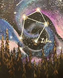 Night Sky Zodiac