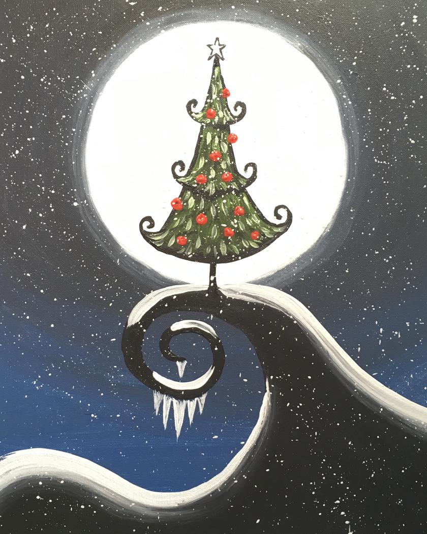 Nightmare Christmas Tree