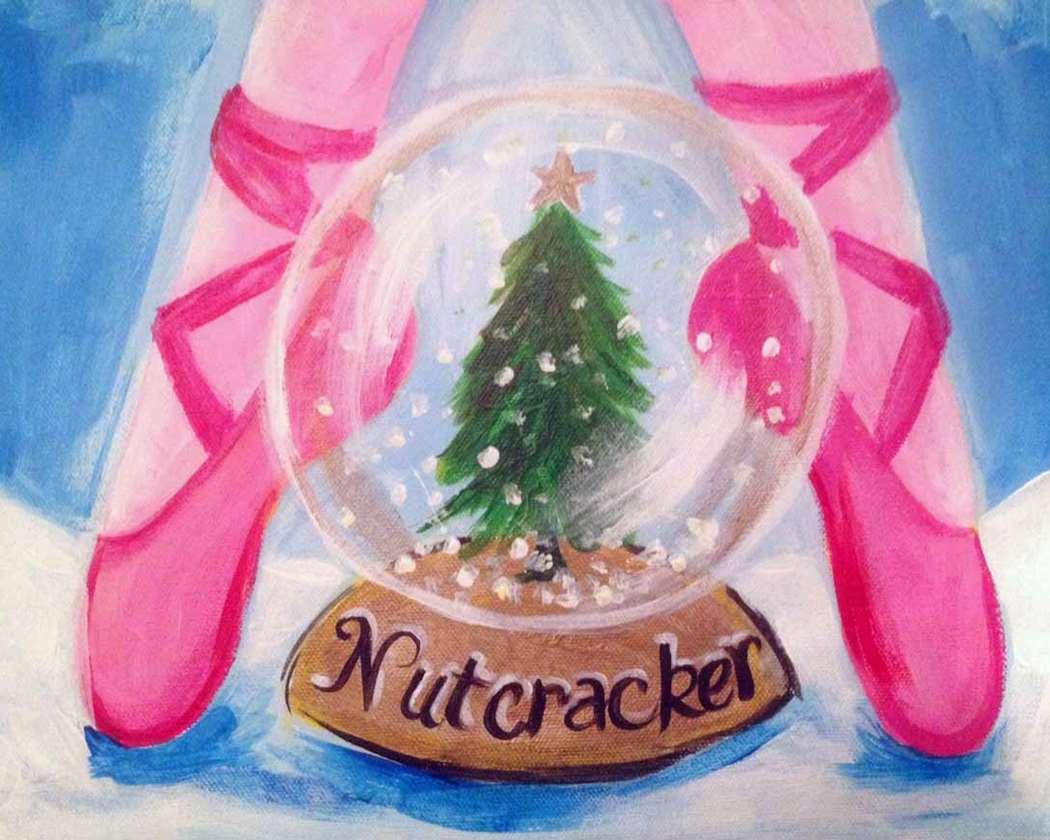 Nutcracker Snowglobe