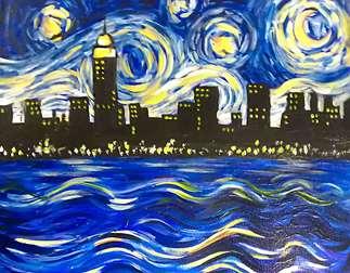 NYC Starry Night