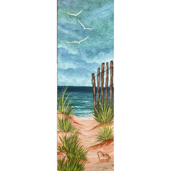 """10"""" X 30"""" Canvas. LIMITED SEATING"""