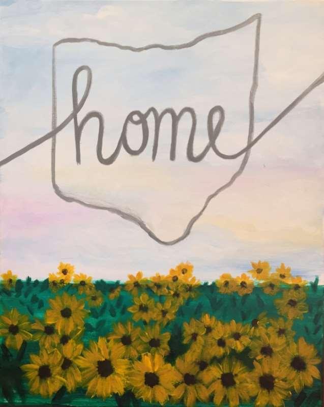 Ohio Sunflowers
