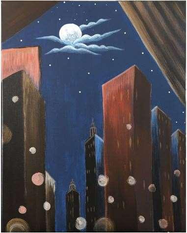 O'Keeffe's City at Night