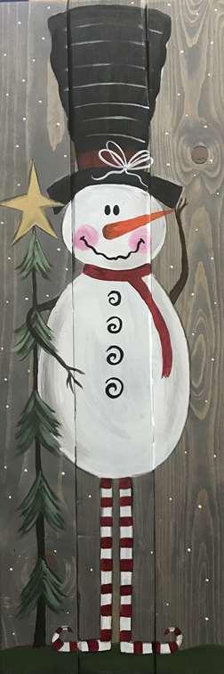 Old World Snowman