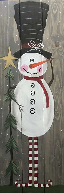 Old World Snowman