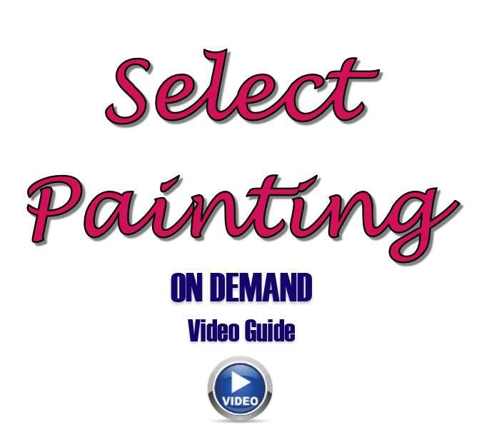 video tutorials!  🤩 Paint at your convenience!