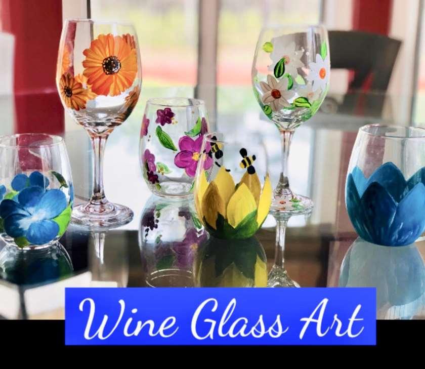 Pop In & Paint - Glass Art