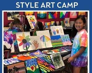 Open Studio Style Art Camp