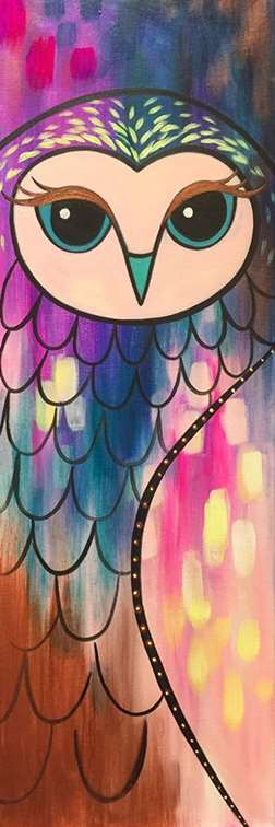 Opulent Owl