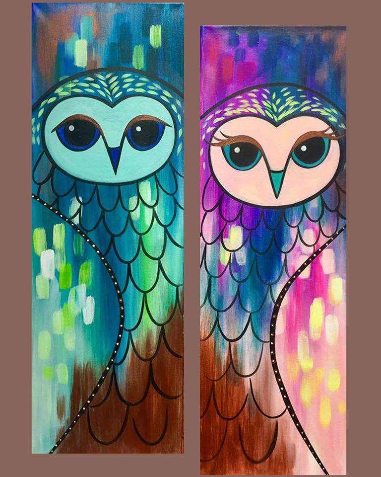 Opulent Owl Mates