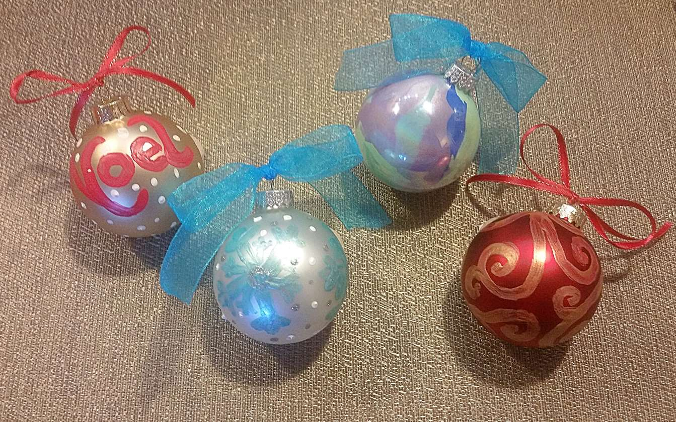 Ornament Painting Class