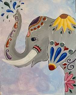 Ornate Elephant