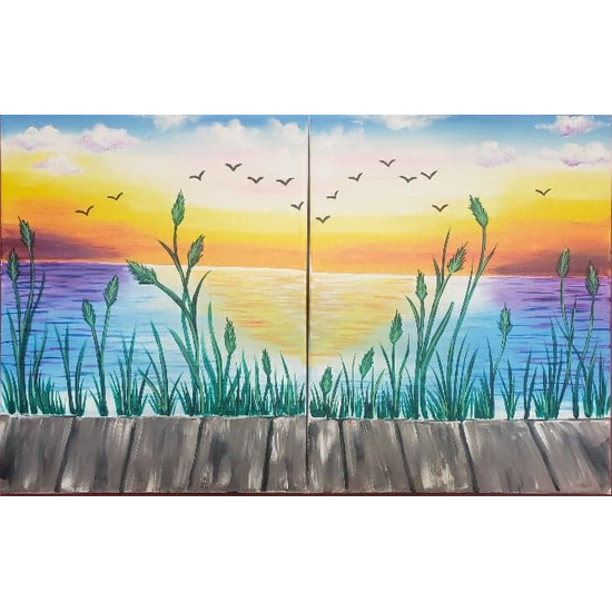 Our Secret Spot - Date Night Painting!