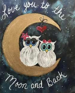 Owl Love You to the Moon