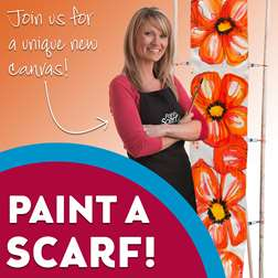 Paint a Silk Scarf