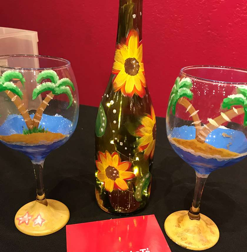 Paint and Customize Your Own Wine Glasses